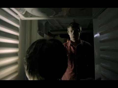 Severed head in the fridge - Sherlock - BBC