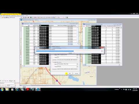 Demonstration 6e: Property Assessment Data And GIS Polygon Files