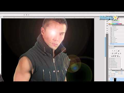 Photoshop Tutorial - Lens Flare