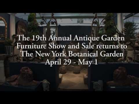 Antique Garden Furniture Sale at NYBG