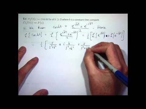 Introduction to Laplace transforms