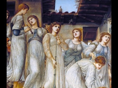 Sir Edward Coley Burne-Jones, The Golden Stairs, 1880