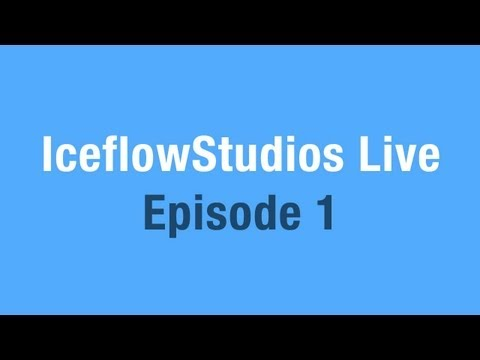 IceflowStudios LIVE! (Pre-recorded)