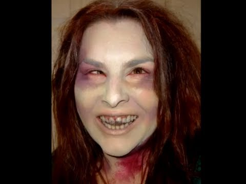 The Walking Dead Halloween Zombie Make up Look