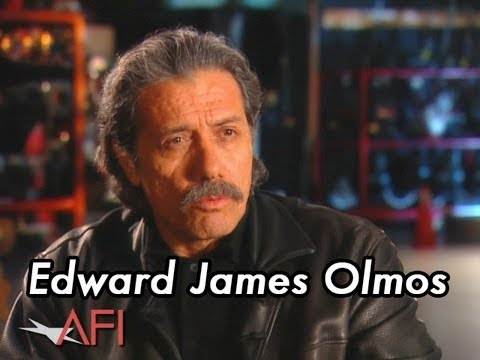 Edward James Olmos on Sophia Loren