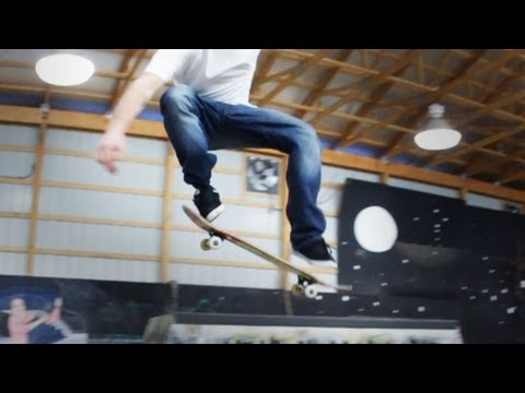 How to Skateboard with Bam Margera: Easy Tricks / Nollie