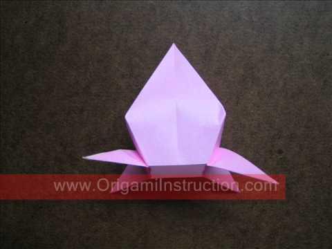 How to Fold Origami 3D Peach   OrigamiInstruction com