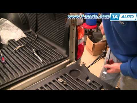 How to Install Replace 95-04 Toyota Tacoma Tailgate Support Strap Cable 1AAuto.com