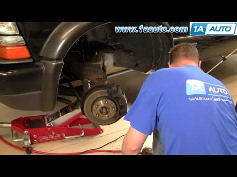 How To Install Replace Wheel Hub Bearing Chevy GMC S-10 S15 4x4 Part 1 1AAuto.com
