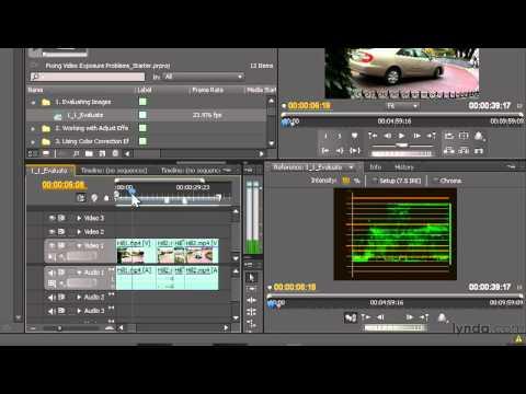 Premiere Pro: Using the Waveform monitor | lynda.com tutorial