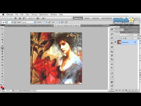 Photoshop Tutorial - Logo Case Study - Enya