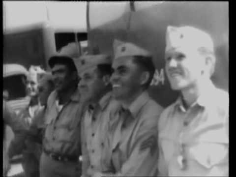 Pacific Force Closes In On Japanese 1945 Newsreel