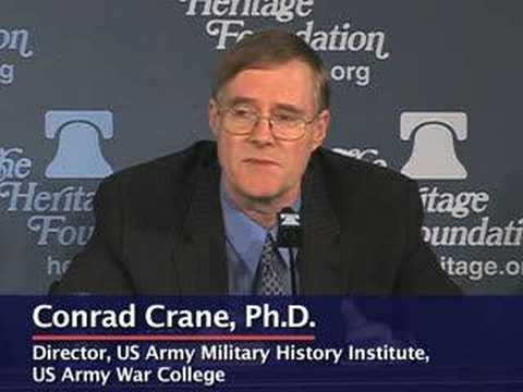 Conrad Crane discusses Iraqis' reaction to Gen. Petraeus