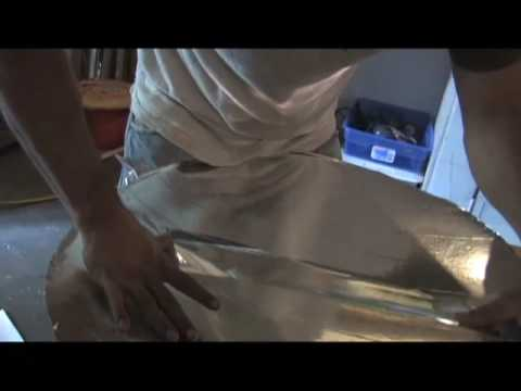 PARABOLIC MIRROR PARABOLOID HOMEMADE SOLAR CONCENTRATOR P2 DIY DO IT YOURSELF