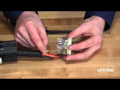Leviton Black & White Receptacle Installation Demo