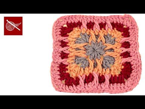 Crochet Geek - Swag & Spike Crochet Granny Squares