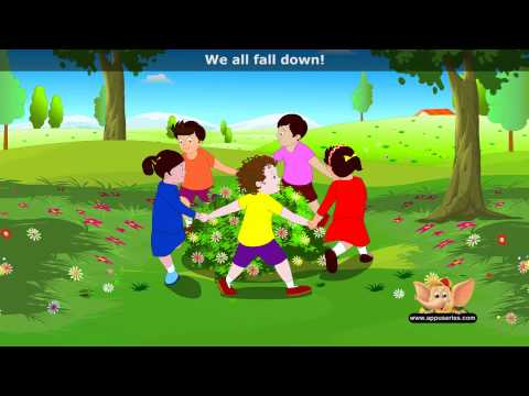 Ringa Ringa Roses - Nursery Rhyme with Lyrics