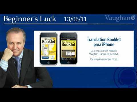 Beginner's Luck - 13/06/11