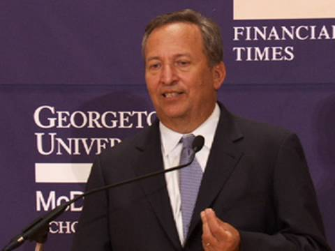 Larry Summers Blasts 'Death Panel' Style Ads on Finance Reform