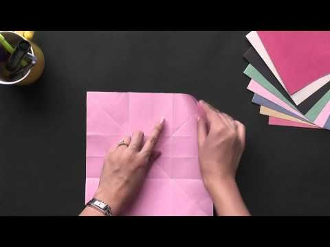Origami - Box with sections - Part 2