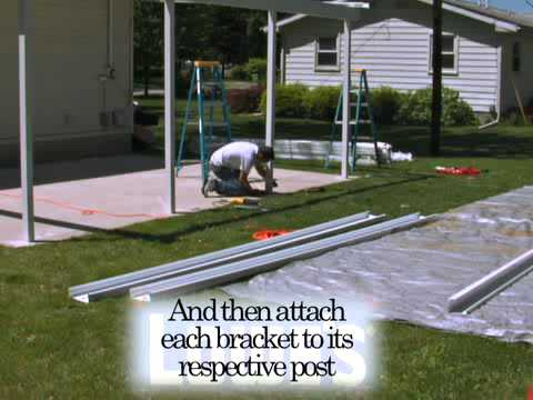 How to Install the Teton Patio Cover - Part 2