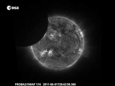 Partial eclipse of the Sun seen by Proba-2's main SWAP