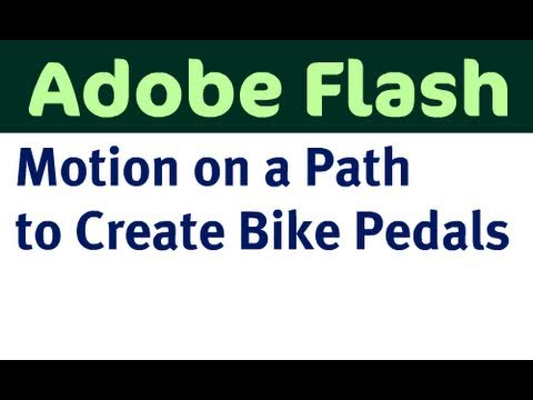 Use Motion on a Path to Create a Bike Pedal
