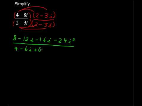 How to Divide Complex Numbers - Precalculus Tips