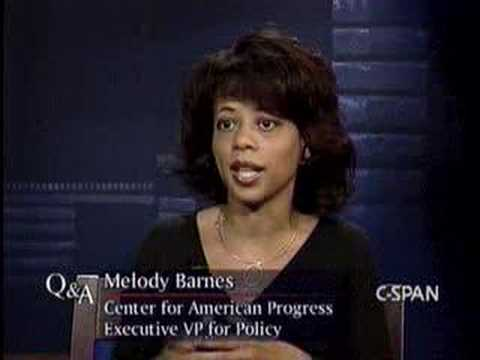 Melody Barnes Profile - CSPAN Q&A Part 3