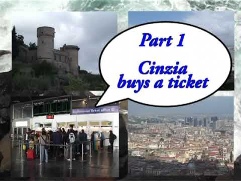 Cinzia goes to Napoli (Episode 1) - Cinzia buys a Ticket