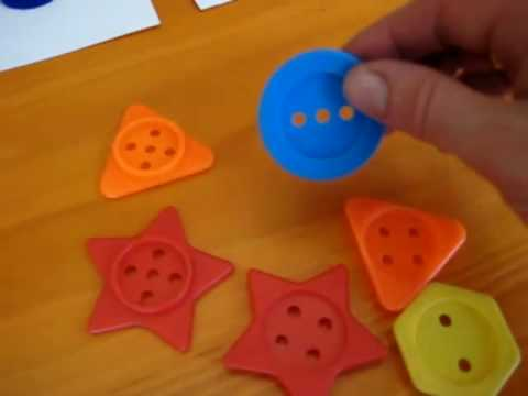 Toddler - Math. numbers and shapes
