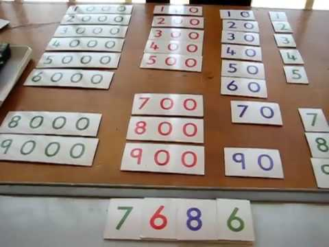 Preschool - Math. large numbers