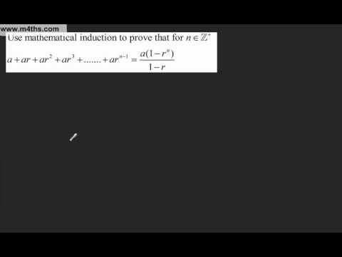 (7) Proof by Induction FP1 - Harder summation (Further Pure Maths)