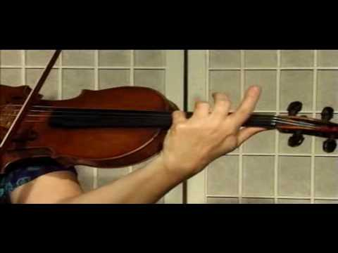 Violin Lesson - Song Demonstration - Edelweiss