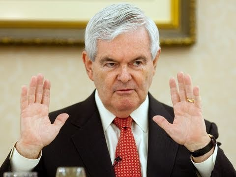 Gingrich on Fair Questions and His Tiffany's Account