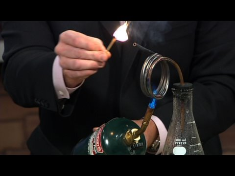 Superheated Steam - Cool Science Experiment