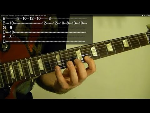 NEW WAY TO PLAY STAIRWAY TO HEAVEN ON GUITAR!
