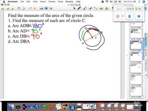Measure Arcs