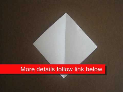 How to fold Origami Diamond Base - OrigamiInstruction.com