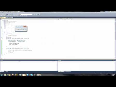 C# Beginners Tutorial - 43 - BinaryWriter