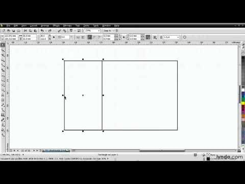 CorelDRAW tutorial: Adding rectangles to a business card | lynda.com