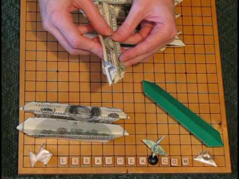 Origami Money Lotus Instructions