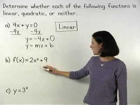 Advanced Algebra - YourTeacher.com - 1000+ Online Math Lessons
