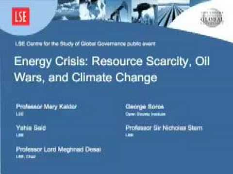 Energy Crisis: Resource Scarcity, Oil Wars & Climate Change