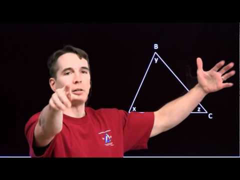 Art of Problem Solving: Angles in a Triangle Part 1