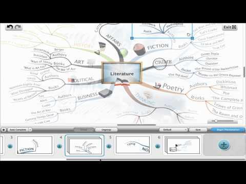 iMindMap 6 - Presentation View