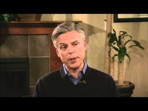 GOP Hopeful Huntsman Looks to 'Blue Sky' in New Hampshire Primary