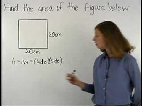Area of a Square - YourTeacher.com - Math Help