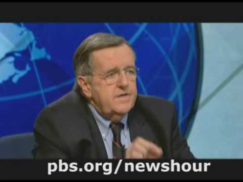 NEWSHOUR WITH JIM LEHRER | Shields & Brooks 11.28.08 | PBS