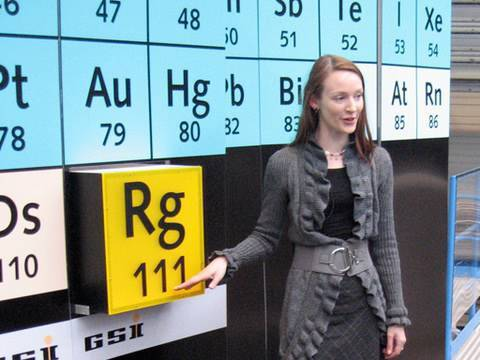Roentgenium - Periodic Table of Videos